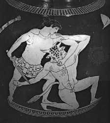 theseus and heracles essay An essay describing the heroism of three characters in greek mythology, namely heracles, theseus, and odysseus.